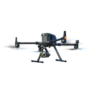 DJI Matrice 300 RTK with Zensmuse H20T on white background