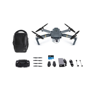 DJI Mavic Pro Drone (Refurbished) with Free Shoulder Bag